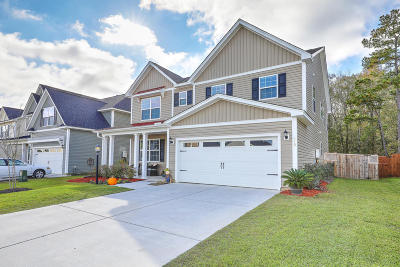 Moncks Corner Single Family Home For Sale: 519 Foxbank Plantation Boulevard