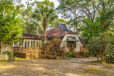 Edisto Island Single Family Home Contingent: 8595 Raccoon Island Road
