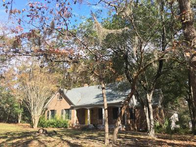 Walterboro Single Family Home Contingent: 100 Lynwood Road