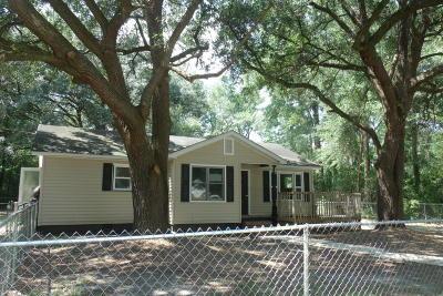 Walterboro Single Family Home For Sale: 279 Mt Carmel Road