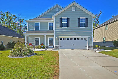 Ladson Single Family Home For Sale: 2018 Hunters Bend Trail