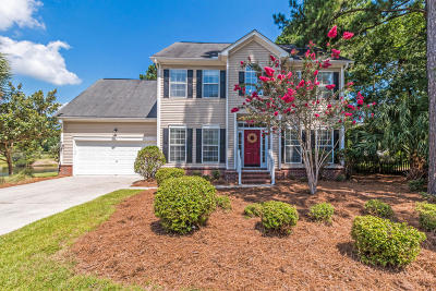 Mount Pleasant Single Family Home For Sale: 2407 Bergeron Way