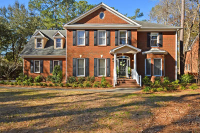 North Charleston, West Ashley Single Family Home For Sale: 4709 Club Course Dr