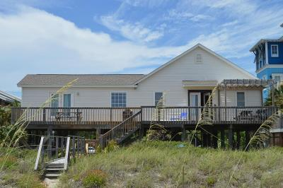 Folly Beach SC Single Family Home For Sale: $1,050,000