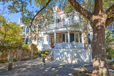 Charleston Single Family Home For Sale: 41 Church Street