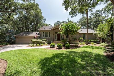 Johns Island Single Family Home For Sale: 3261 Seabrook Island Road