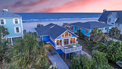 Folly Beach SC Single Family Home For Sale: $995,000