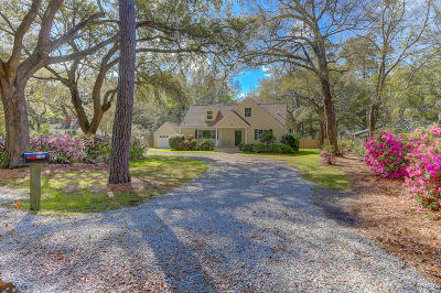 Charleston SC Single Family Home For Sale: $739,500