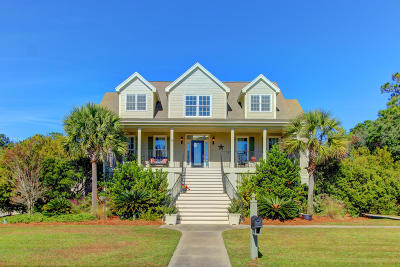 Johns Island Single Family Home For Sale: 2882 Maritime Forest Drive