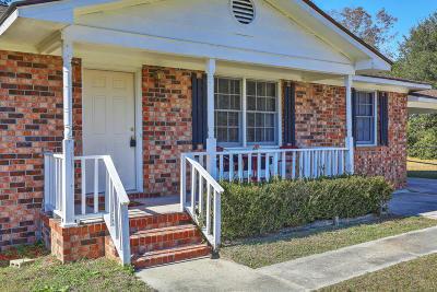 Moncks Corner Single Family Home For Sale: 1549 Old Whitesville Road