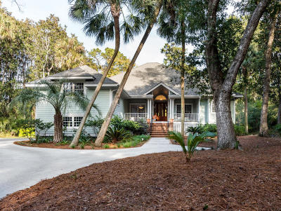 Johns Island Single Family Home For Sale: 3230 Privateer Creek Road