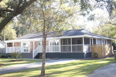 Charleston Single Family Home For Sale: 1603 Rainbow Road