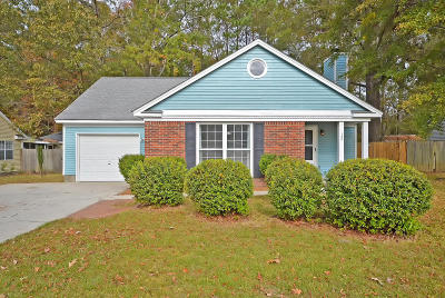 Goose Creek Single Family Home For Sale: 124 Commons Way