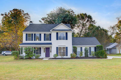 Mount Pleasant Single Family Home For Sale: 1227 Center Lake Dr