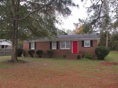 Walterboro Single Family Home For Sale: 425 Lakeshore Drive