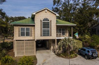 Edisto Beach Single Family Home For Sale: 740 Fairway Drive
