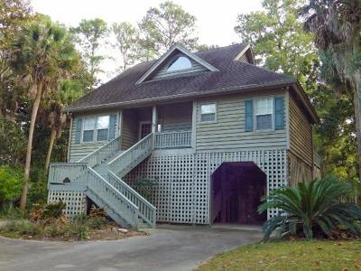 Edisto Beach Single Family Home For Sale: 24 Rice Lane