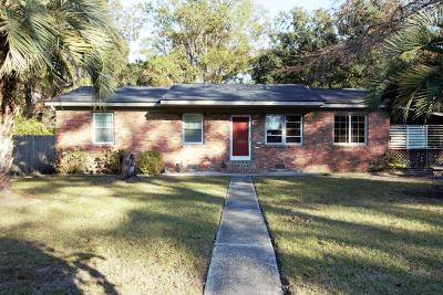 James Island Single Family Home Contingent: 1324 Witter Street