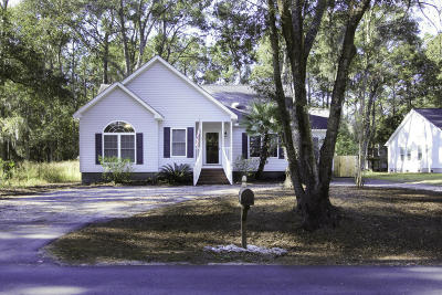 Johns Island Single Family Home Contingent: 3630 Berryhill Road