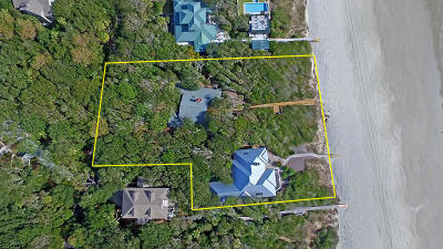 Kiawah Island Single Family Home For Sale: 35 (& 33b) Eugenia Avenue