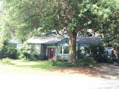 Charleston Single Family Home For Sale: 731 Woodward Road