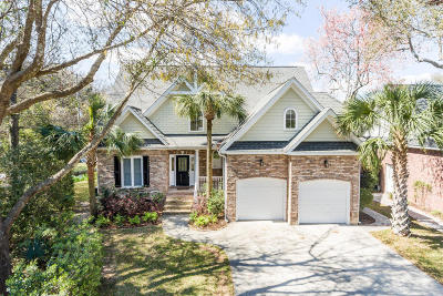 Mount Pleasant Single Family Home For Sale: 1117 Waterfront Drive