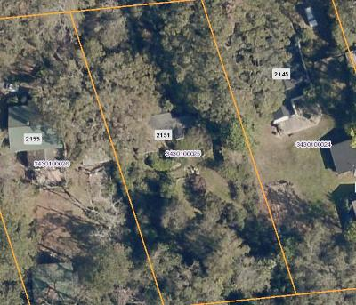 Charleston Residential Lots & Land For Sale: 2151 Wappoo Hall Road