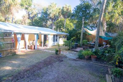 Folly Beach SC Single Family Home For Sale: $615,000