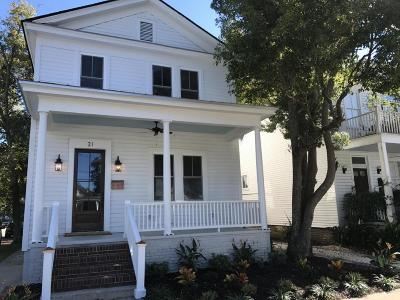 Charleston Single Family Home For Sale: 21 Cleveland Street
