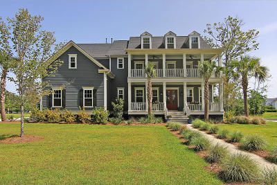 Mount Pleasant Single Family Home For Sale: 2995 Yachtsman Drive