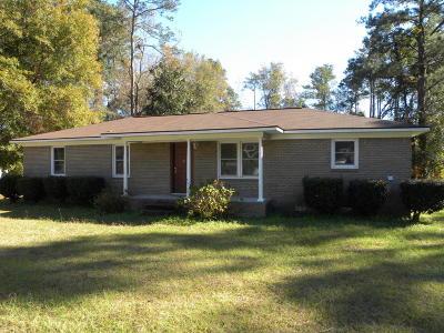Walterboro Single Family Home For Sale: 334 Knights Avenue