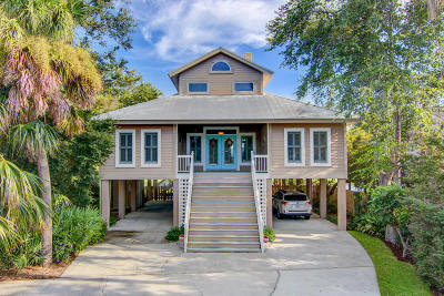 Charleston Single Family Home Contingent: 1606 Teal Marsh Road