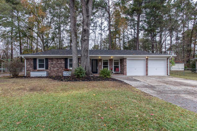 Ladson Single Family Home For Sale: 110 Sandra Ln