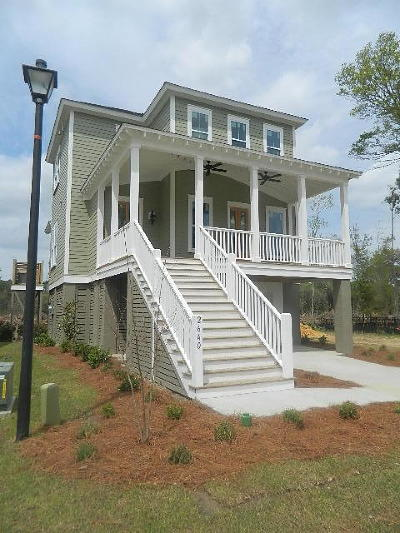 Johns Island Single Family Home For Sale: 2640 Colonel Harrison Drive