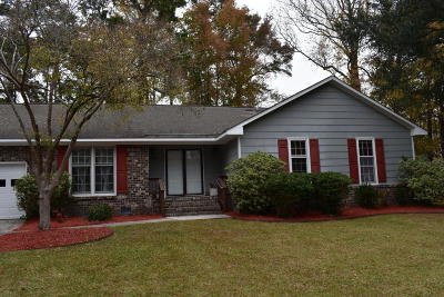 Charleston Single Family Home Contingent: 2223 Forest Lakes Boulevard