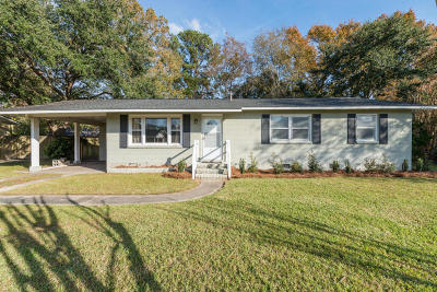 Charleston Single Family Home Contingent: 14 Murray Hill Drive