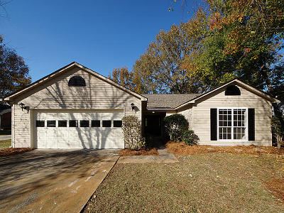 Charleston Single Family Home For Sale: 1723 S Nicole Place