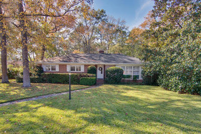 Charleston Single Family Home Contingent: 257 Druid Road