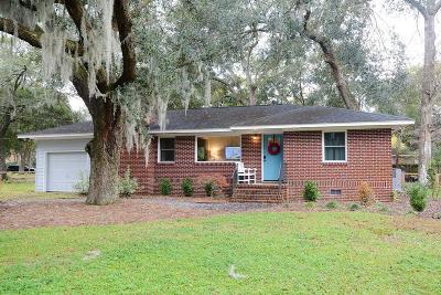 Charleston Single Family Home For Sale: 835 Godber Street