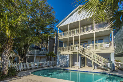 Isle Of Palms SC Single Family Home For Sale: $1,100,000