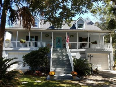 Isle Of Palms Single Family Home Contingent: 6 Driftwood Lane