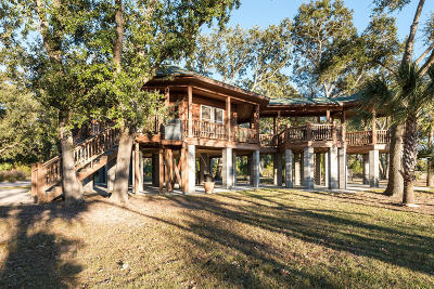 Edisto Island Single Family Home For Sale: 8925 Sandy Creek Road