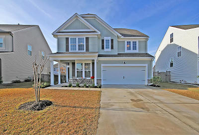 Moncks Corner Single Family Home For Sale: 535 Crossland Drive