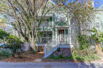 Charleston Single Family Home For Sale: 4 Ascot Alley