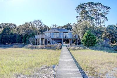 Folly Beach SC Single Family Home For Sale: $799,000