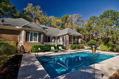 Stono Ferry, Stono Plantation Single Family Home For Sale: 4860 Highlander Lane