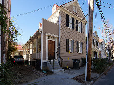 Charleston Multi Family Home Contingent: 109 Coming Street