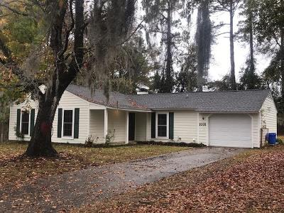 Mount Pleasant Single Family Home For Sale: 1665 Nantahala Boulevard