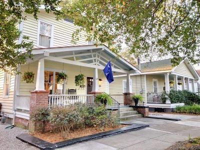 Charleston Single Family Home Contingent: 299 President Street