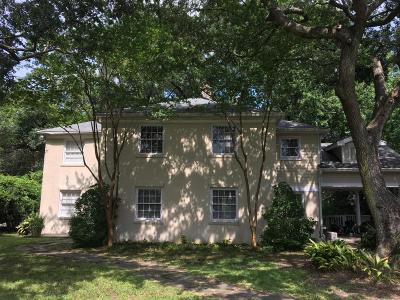Charleston Single Family Home For Sale: 5 Palmetto Road